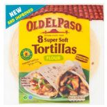 Old El Paso Flour Tortillas 8 Pack 326g